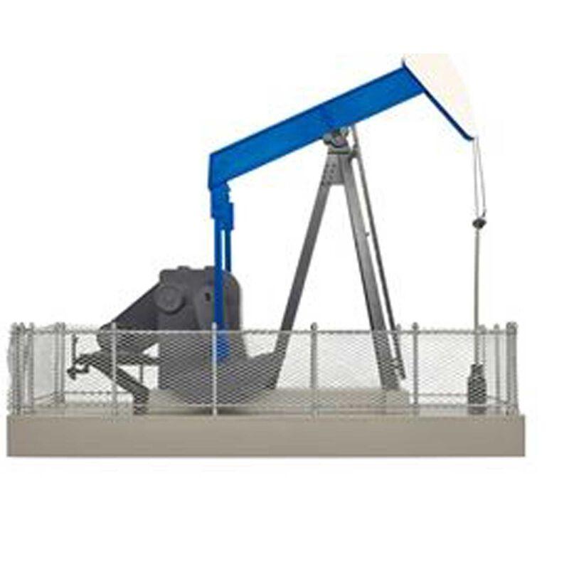 O Operating Oil Pump, Blue/White
