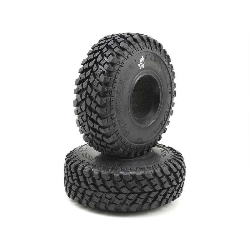 1.55 Growler AT/Extra Alien Kompound Crawler Tires with 2-Stage Foam Inserts (2)