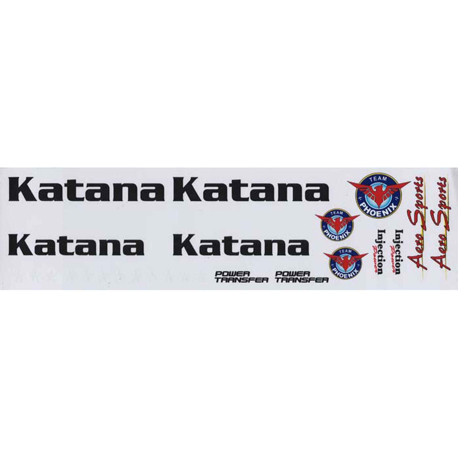 Decal Sheet Katana .61 ARF