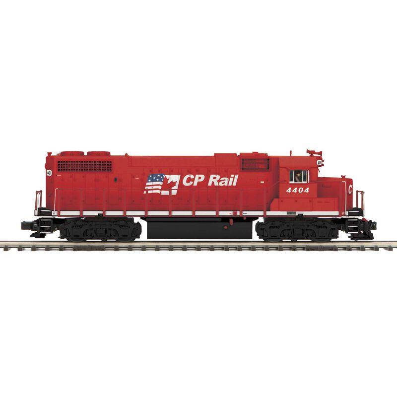 O Hi-Rail GP38-2 w PS3  CPR #4404