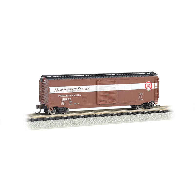 N 50' Sliding Door Box PRR Merchandise Service