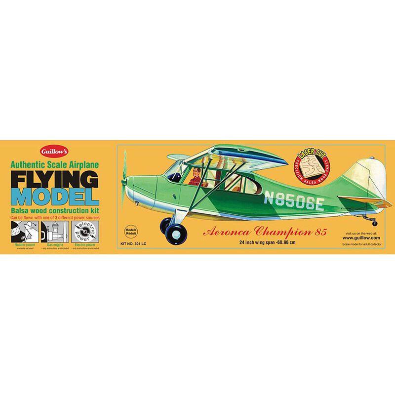 """Aeronca Champion 85 Laser Cut Kit, 24"""""""