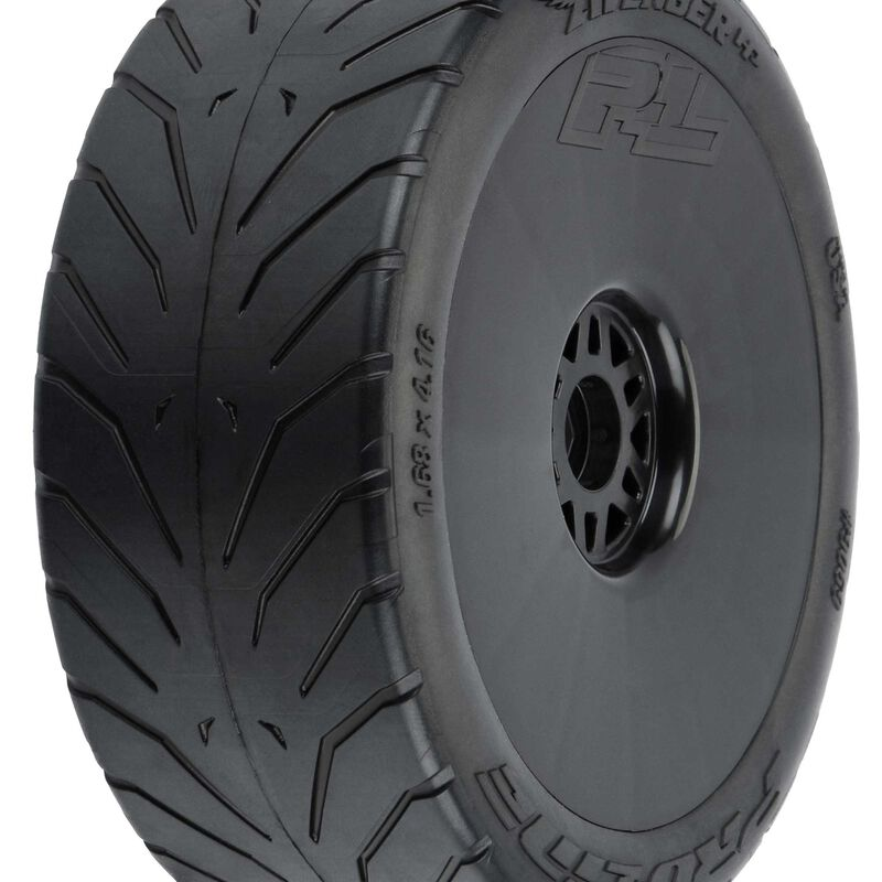 Avenger HP S3 (Soft) Belted 1/8 Buggy Mounted Tires F/R (2)