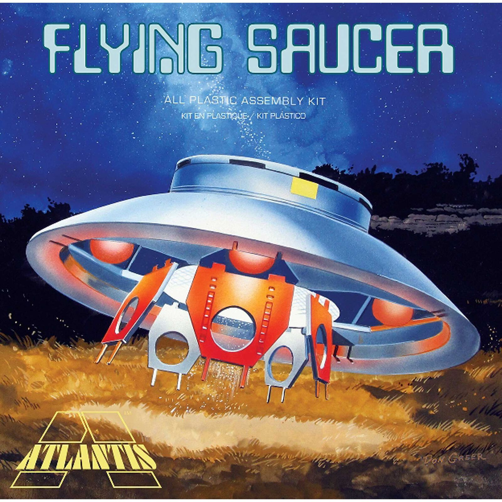 The Flying Saucer UFO (Invaders), 1/72