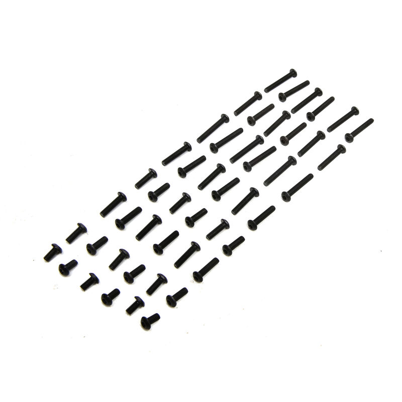 3mm BH Screw Set (48): 1/8 Epidemic, 1/8 Muckraker