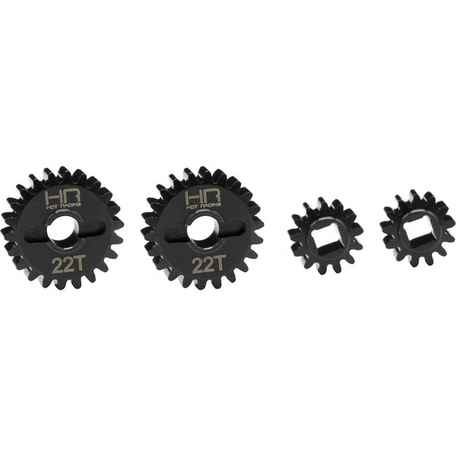 Overdrive Portal Machined Gear Set, 13-22T: Axial UTB