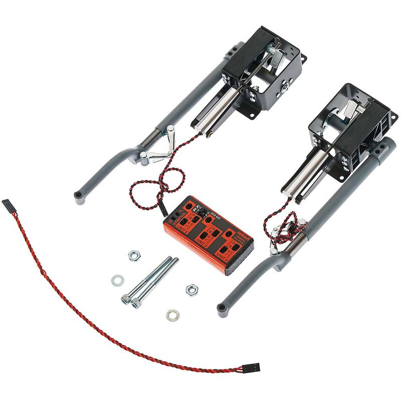 Top Flite P-51 Mains, Electric