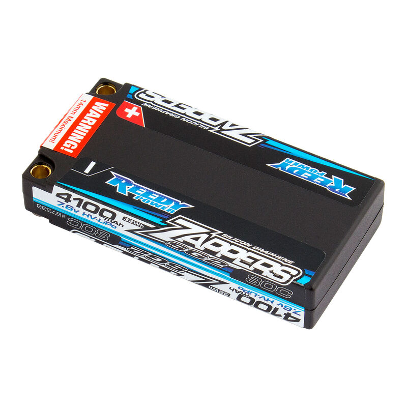 Reedy Zappers SG2 7.6V 4100mAh 80C LiPo Shorty