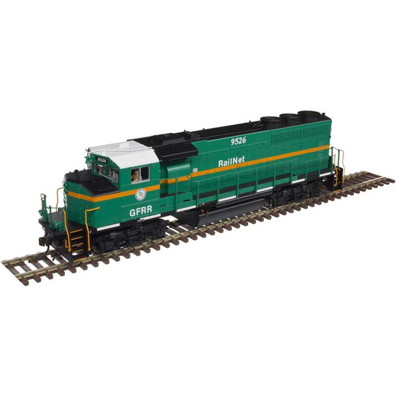 HO GP40-2W Georgia & Florida Railnet #9526