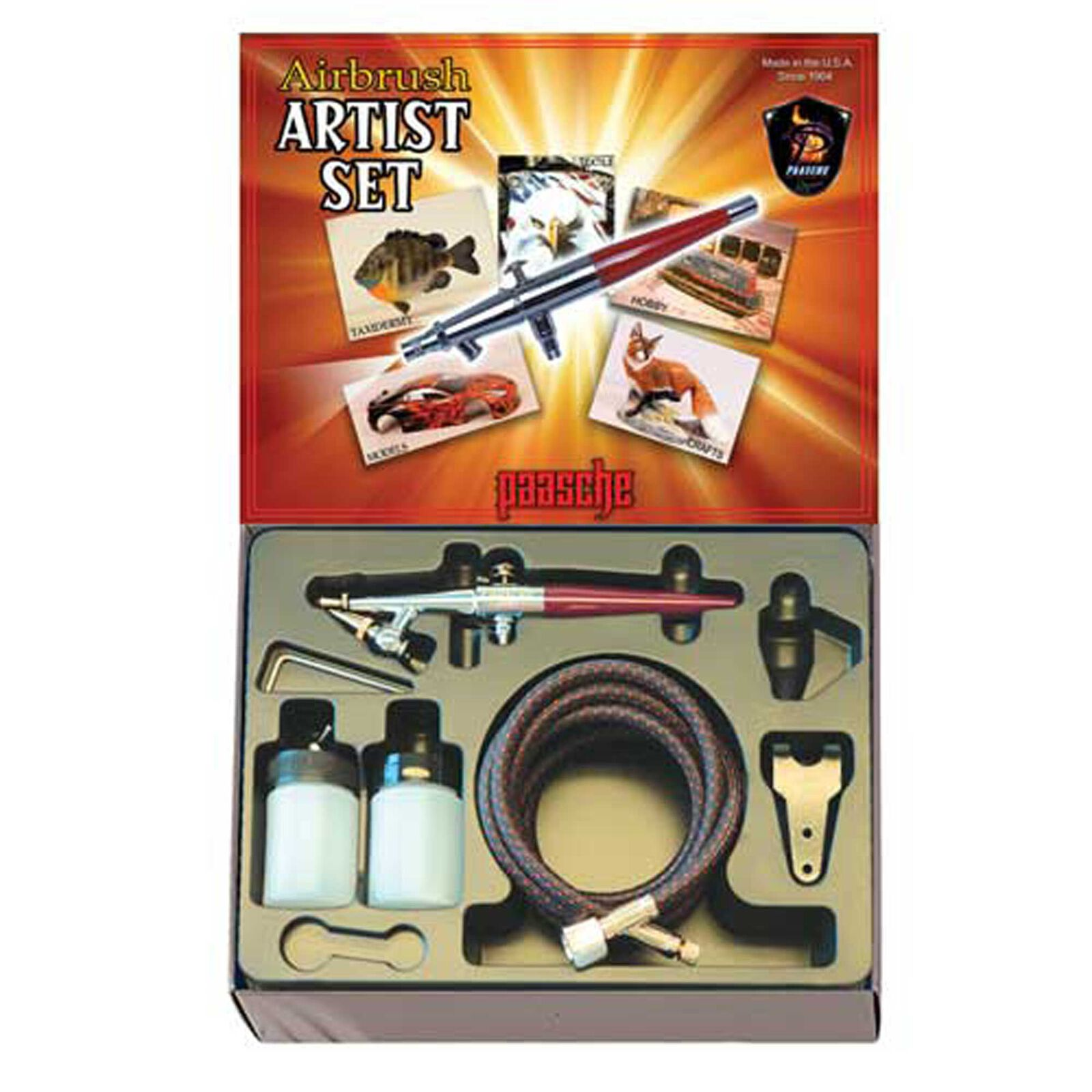 H Airbrush Kit with #3 Needle
