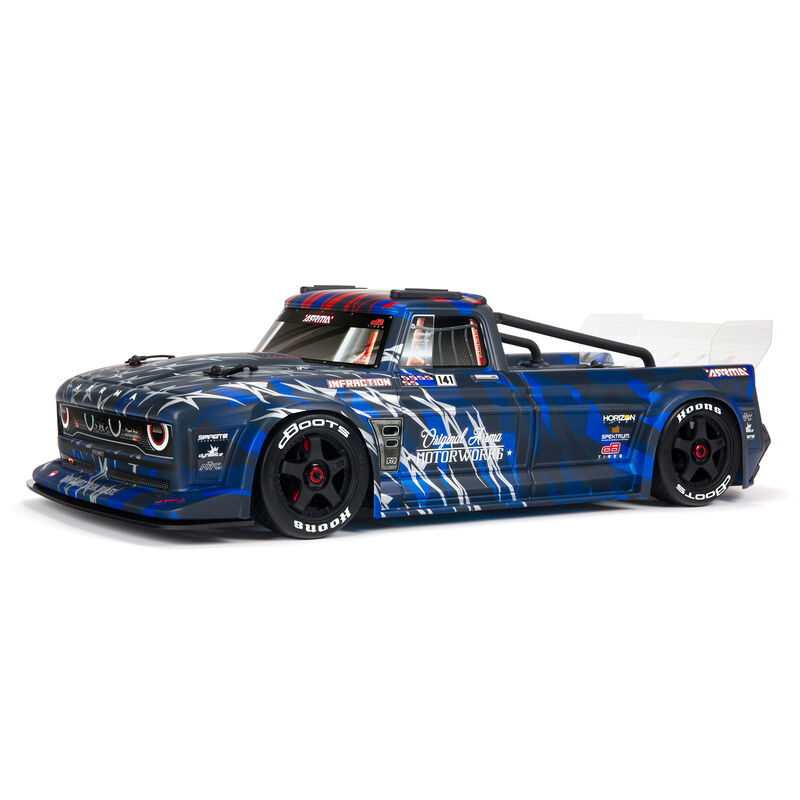 1/7 INFRACTION 6S BLX V2 All-Road Truck RTR, Blue