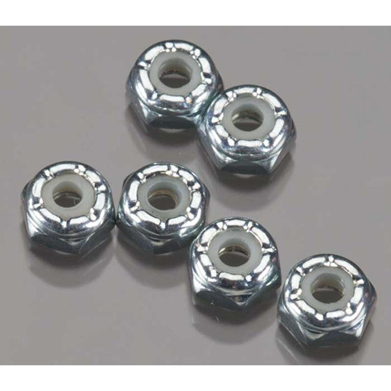 Front Wheels Locknuts 5-40 (6)