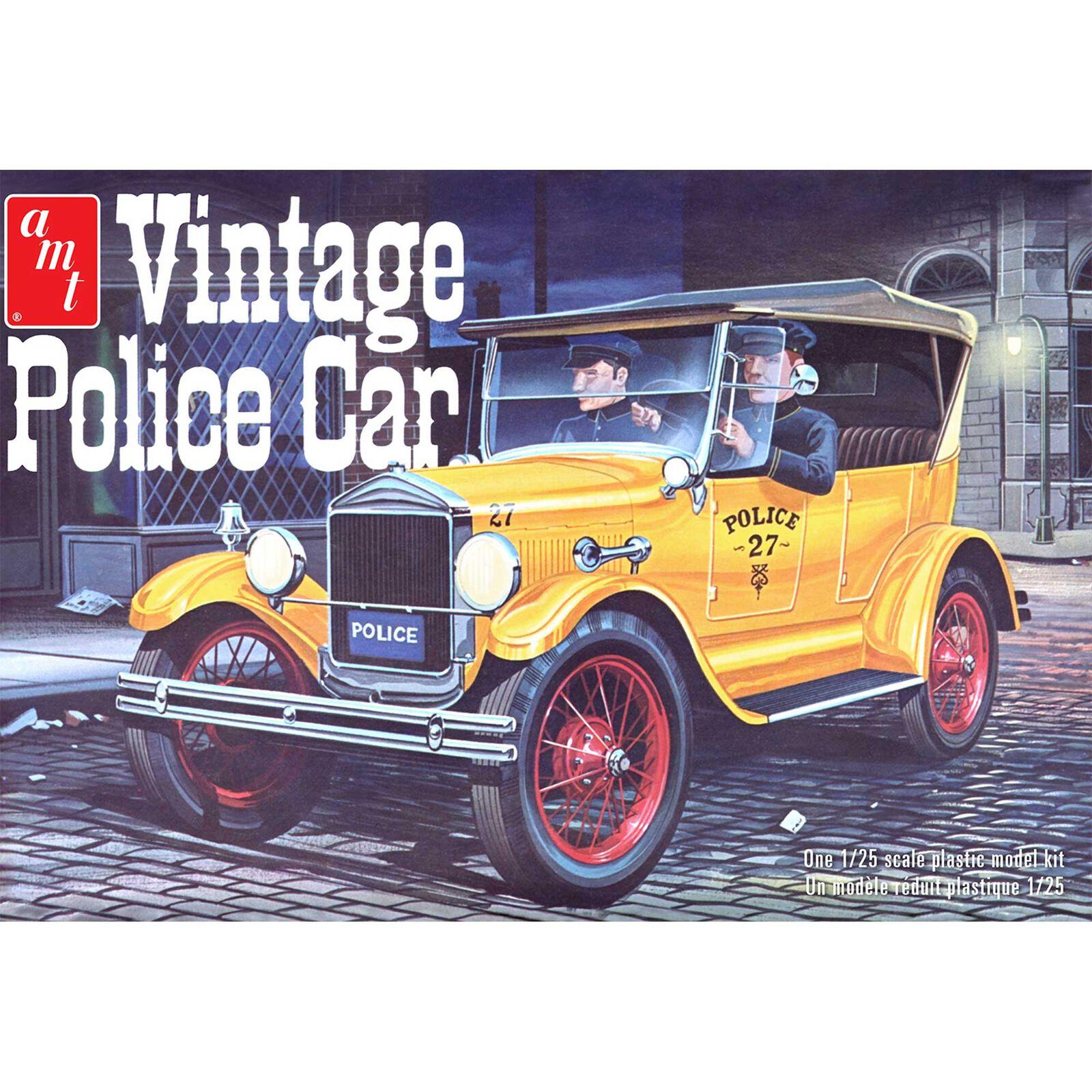 1/25 1927 Ford T Vintage Police Car
