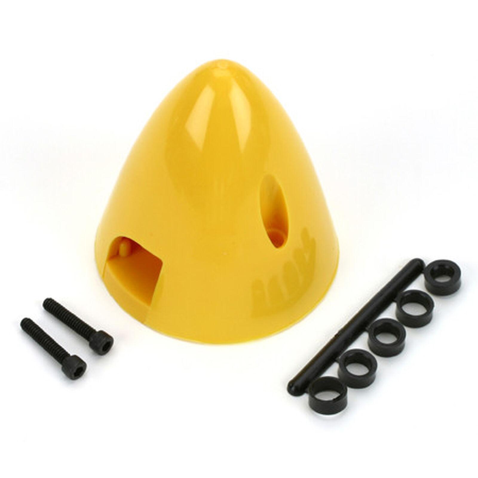 "4 Pin Spinner,2-1/4"" Yellow"