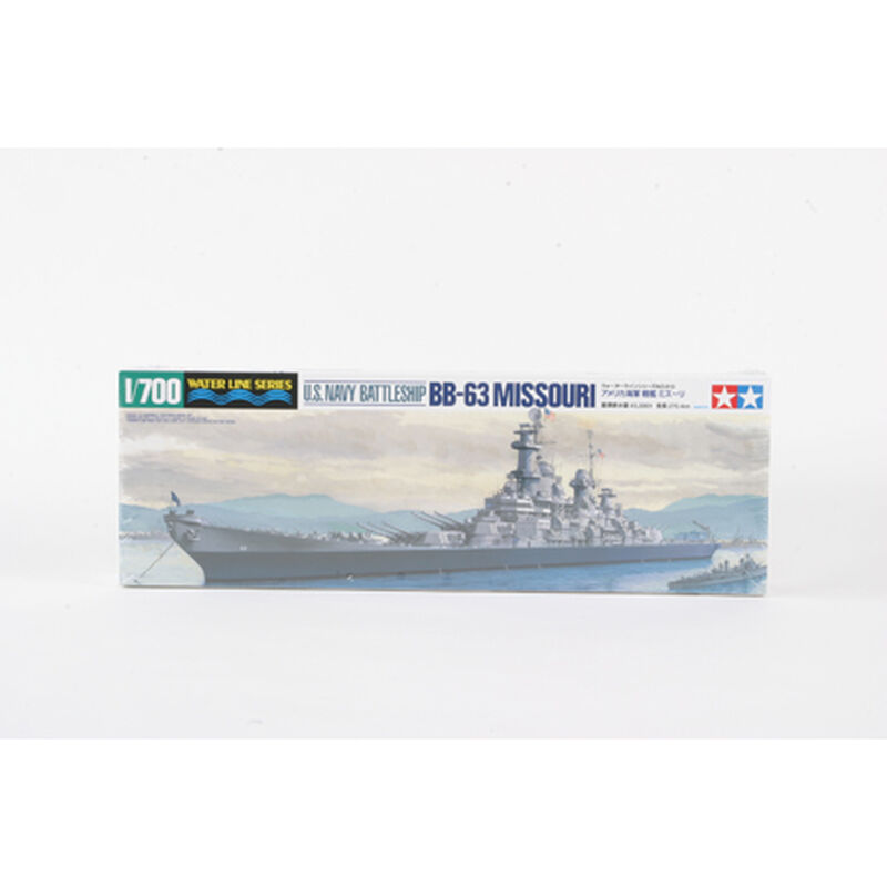 1/700 U.S.Navy Battleship Missouri