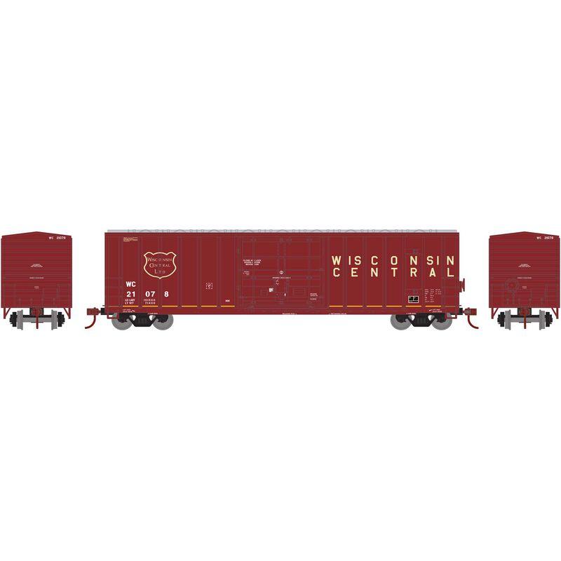 N 50' FMC Superior Plug Door Box WC #21078