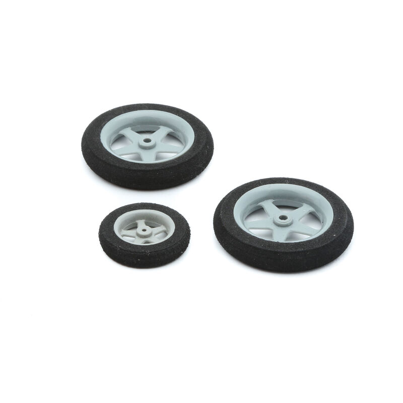 Wheel Set, 45mm (2) 30mm (1): Slick 3D 480