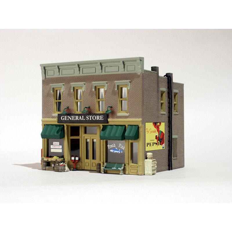 HO B/U Lubener's General Store