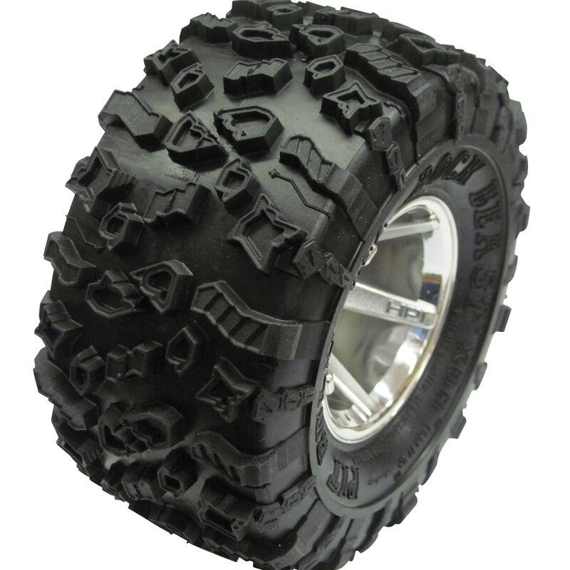 Rock Beast XOR 2.2 Crawler Tire KK (2), No Foam