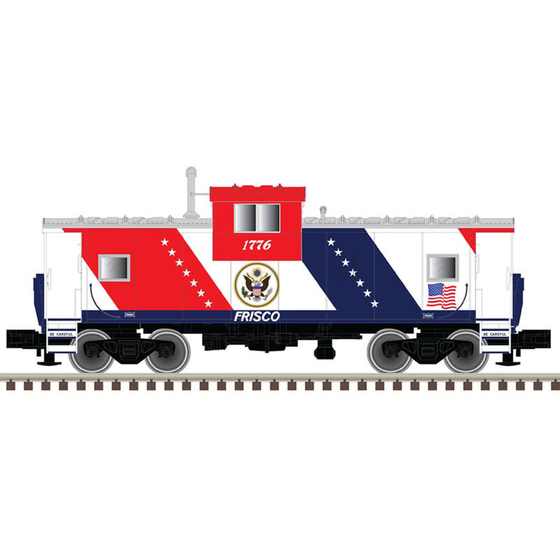 HO Extended Vision Caboose Frisco #1776