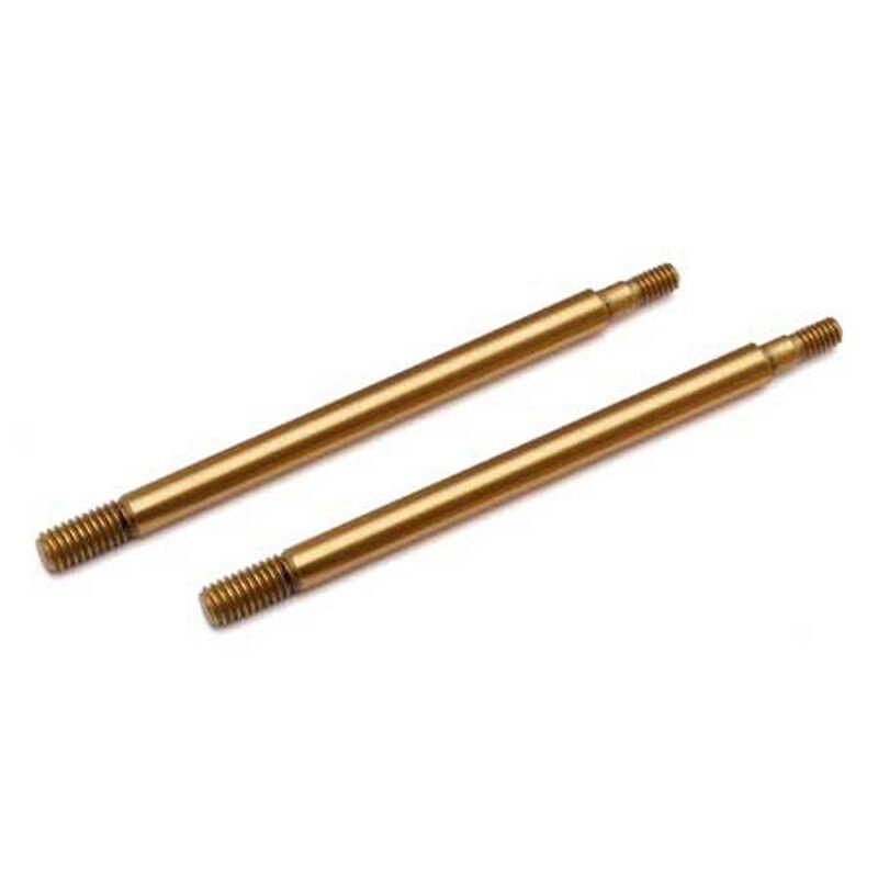 TiN Shock Shafts, 3.5x30.5 mm (2): RC8B3