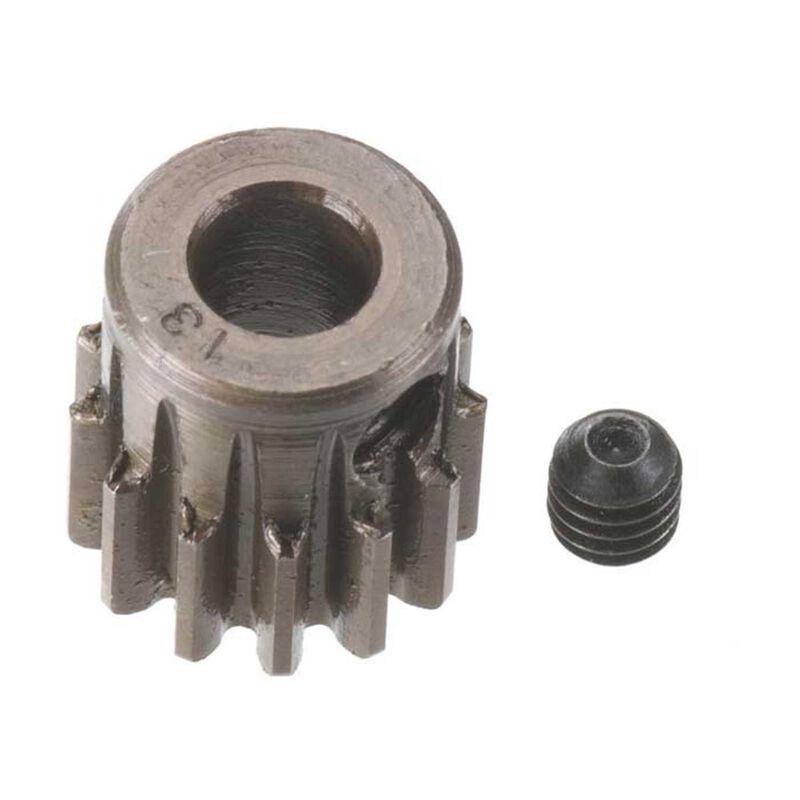 Extra Hard 5mm Bore .8 Module (31.75P) Pinion, 13T