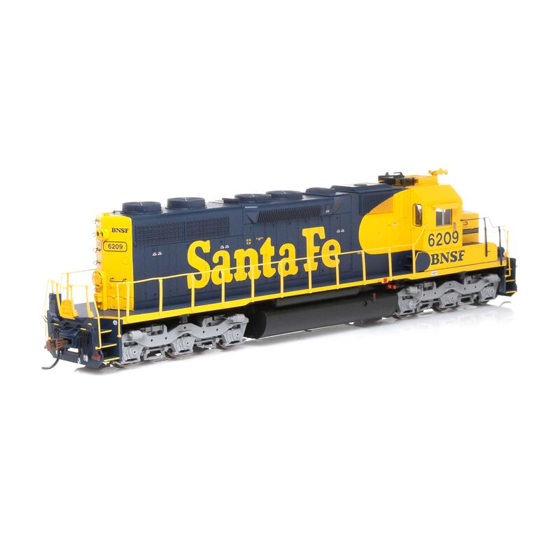 HO RTR SD39 with DCC & Sound BNSF #6209