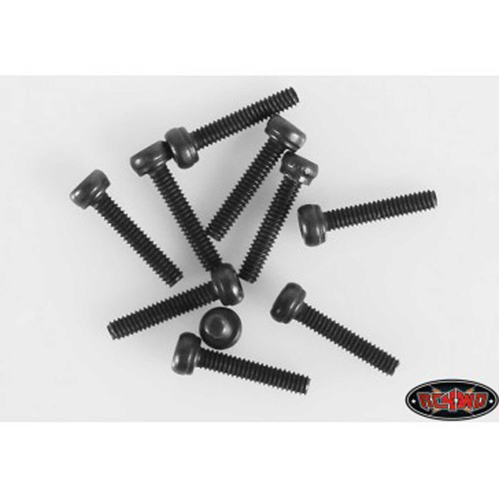Steel Socket Head Cap Screws M2 x 10mm (10)