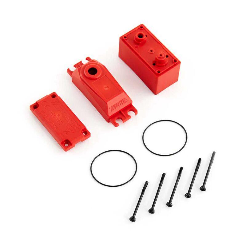 ADS V2 Plastic Gear Servo Case Red
