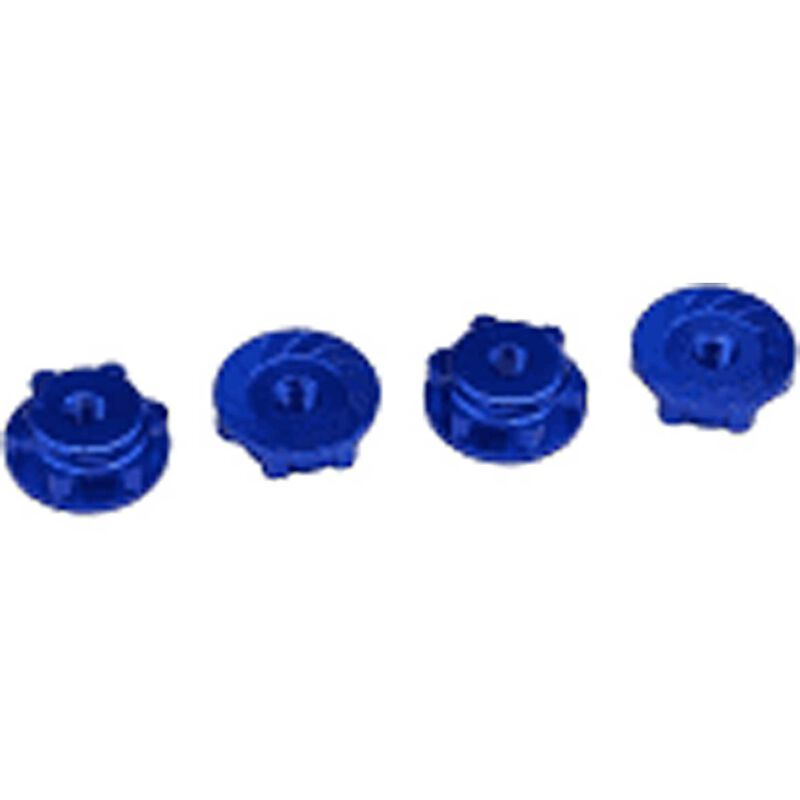 Serrated Wheel Nuts, 17mm: Traxxas Maxx 4S
