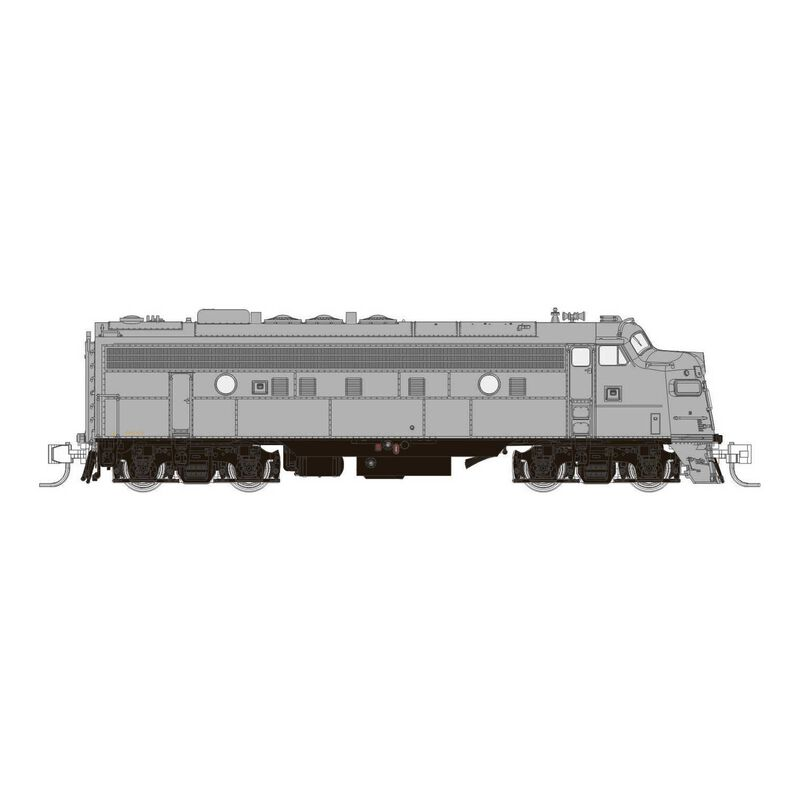 N Scale CP FP9A (DC Silent), Undecorated