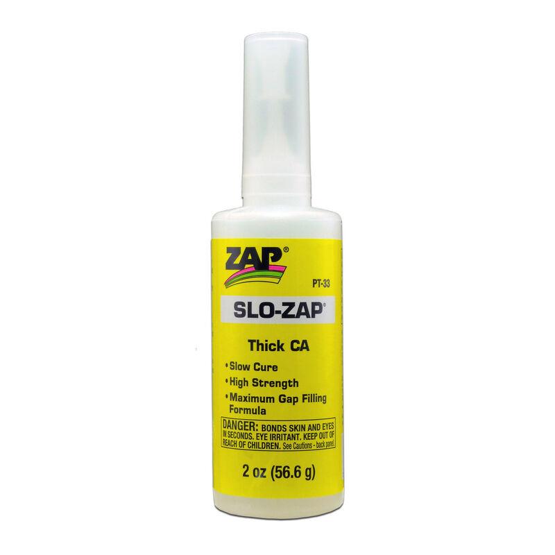 Slo-Zap Thick CA Glue, 2 oz