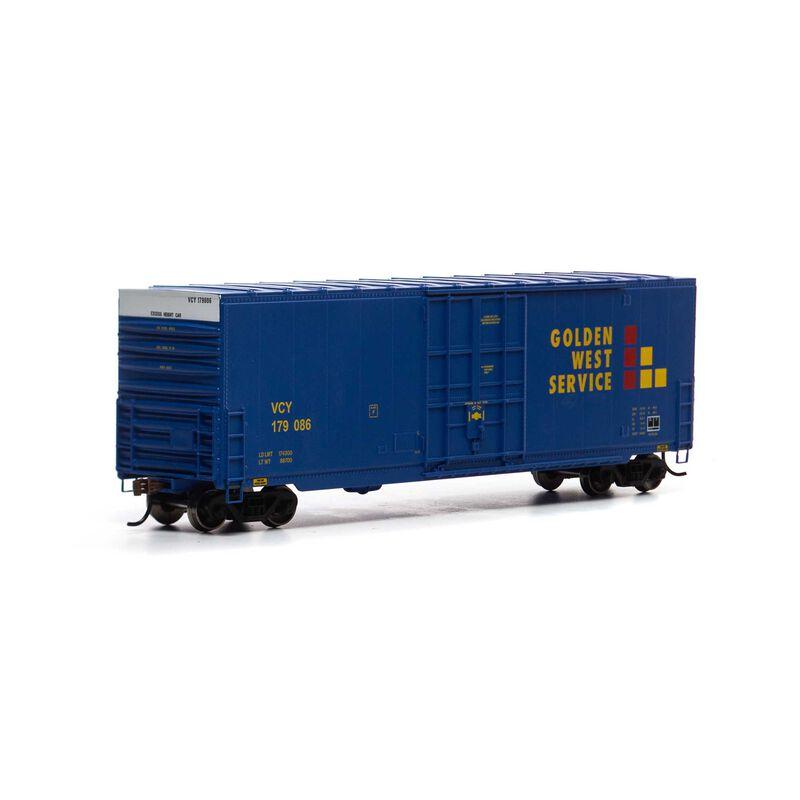 HO 50' Smooth High Cube Plug Door Box, VCY #179086