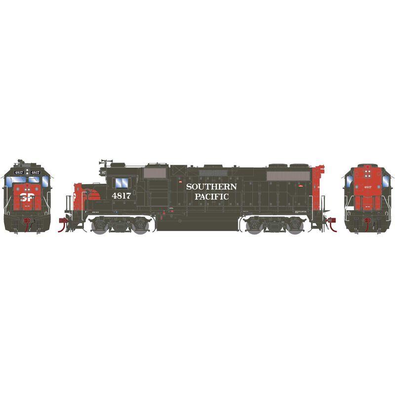 HO GP38-2 EMD with DCC & Sound SP #4817