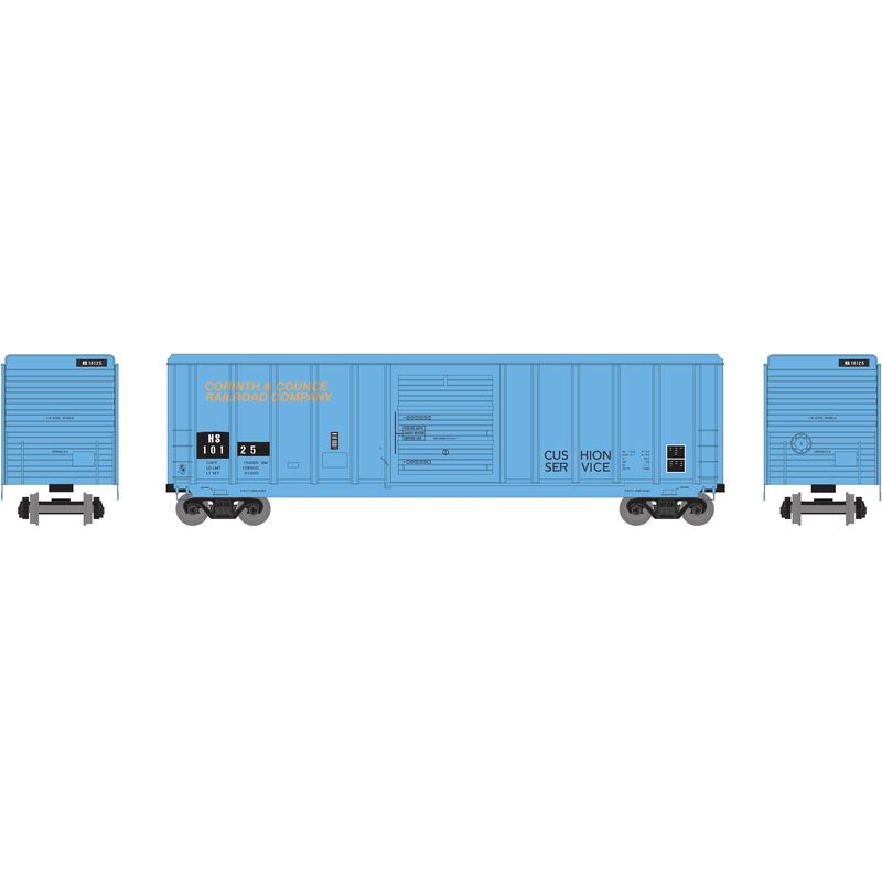 HO RTR 50' PS 5344 Box HS Ex-CCR #10125