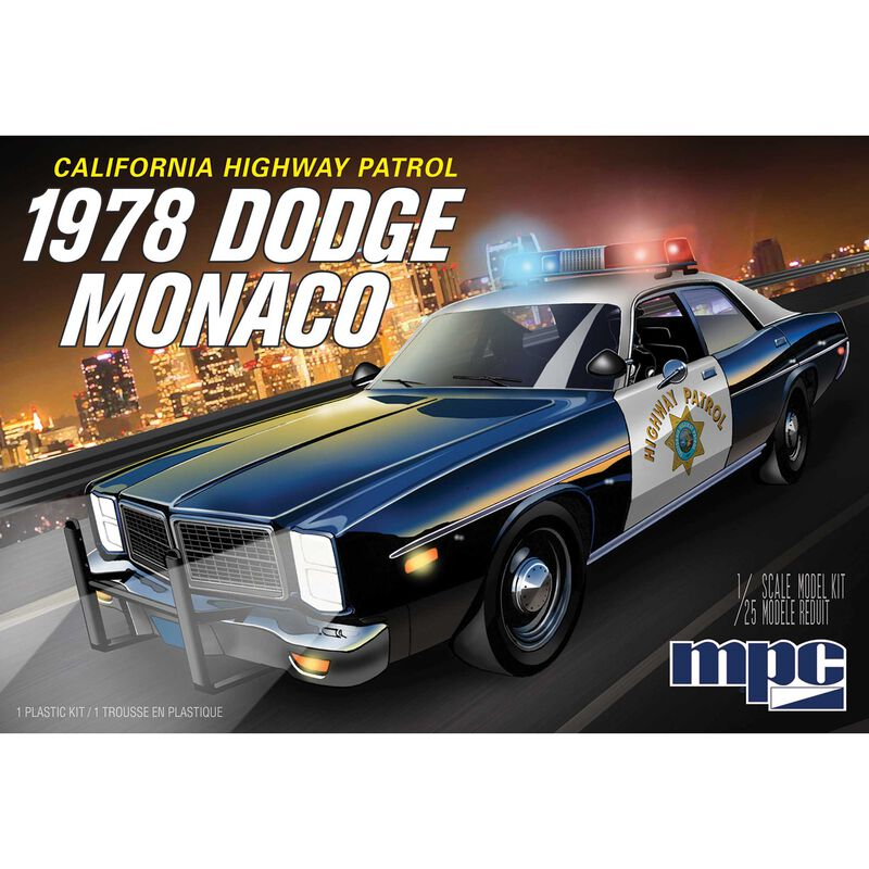 1/25 1978 Dodge Monaco CHP Police Car 2T