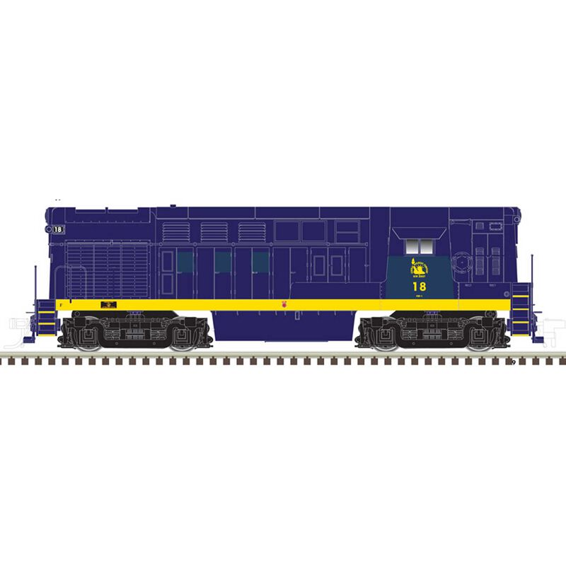 HO H16-44 w DCC & Sound Undecorated Early Body Cab