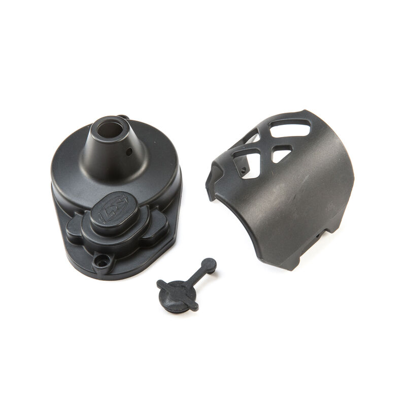Gear Cover & Motor Guard: 22S