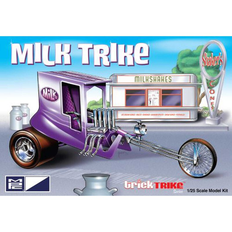 1/25 Milk Trike (Trick Trikes Series)