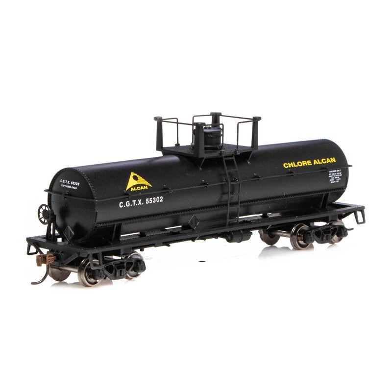 HO Chemical Tank CGTX Alcan Limited #55302