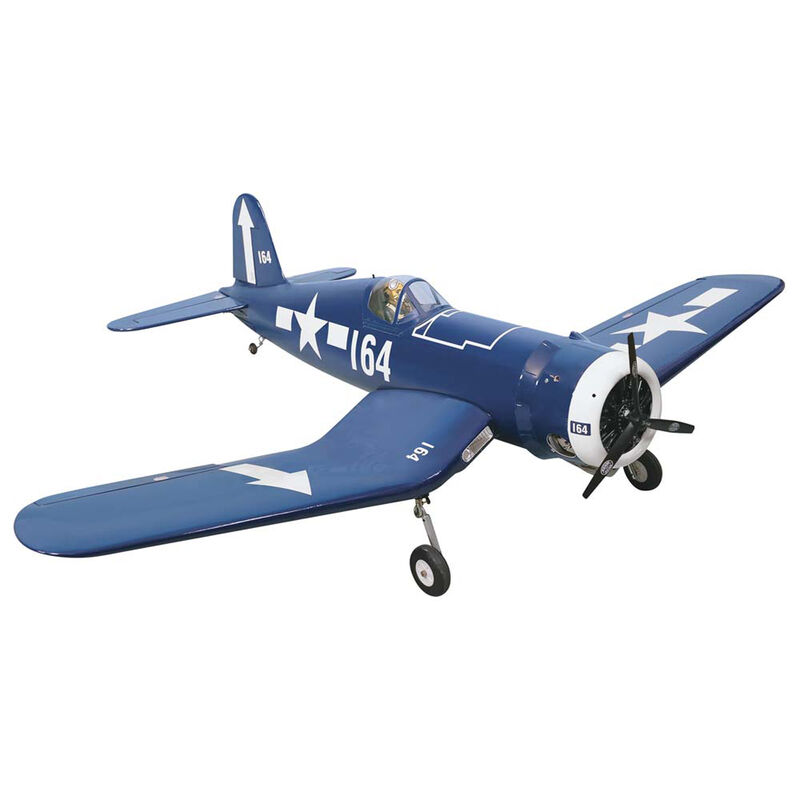 "F4U Corsair .46-.55 GP EP ARF 58.5"""