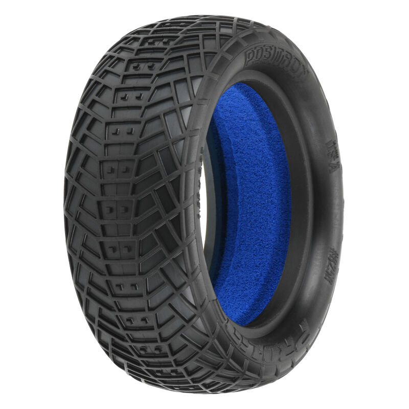 1/10 Front Positron 2.2 4WD M4 Tires with Closed Cell Foam inserts: Off-Road Buggy (2)