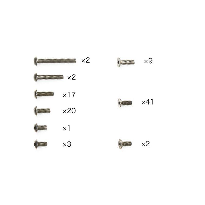 Titanium Screw Set: TB-05 PRO