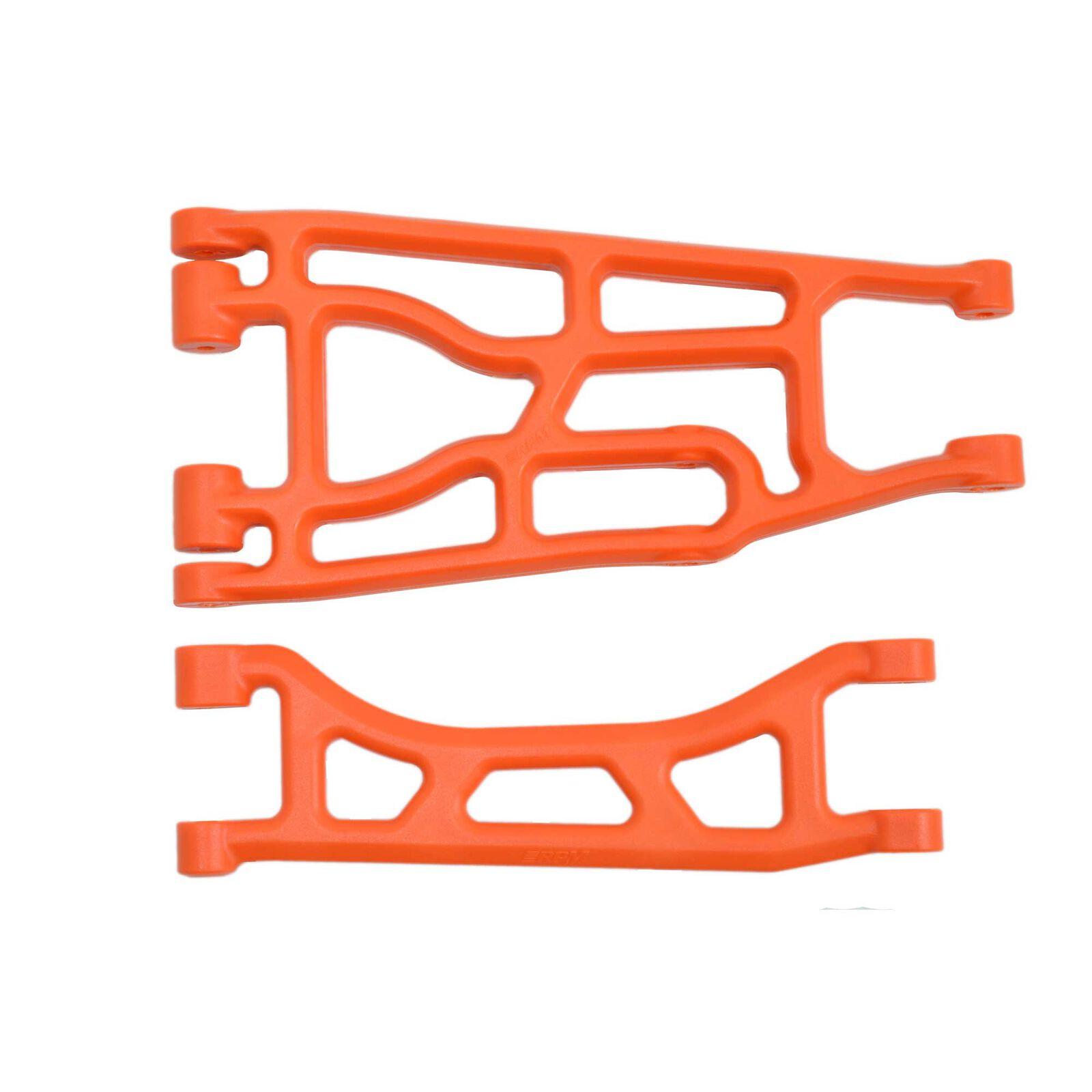Upper & Lower A-arm, Orange:  Traxxas X-Maxx