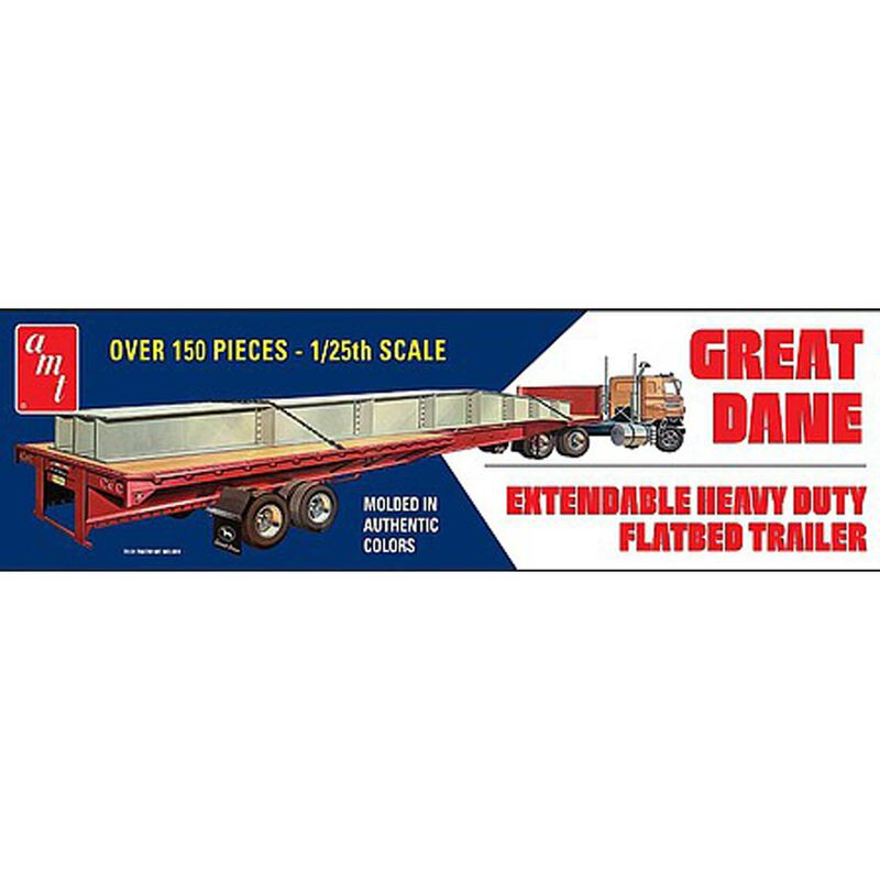 1 25 Extendable Flatbed Trailer Great Dane