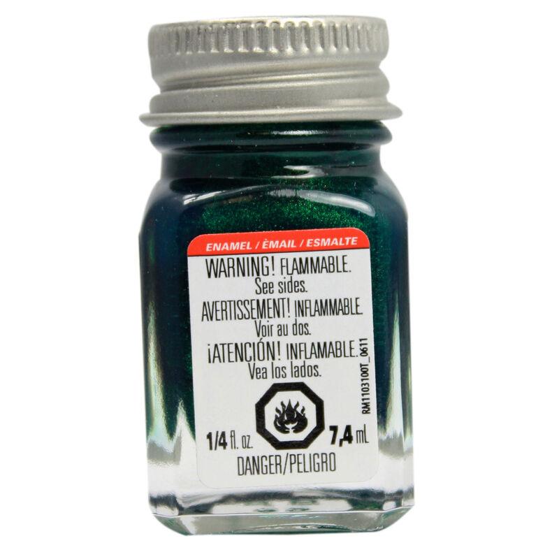 Enamel 1/4 oz Metal Flake Green