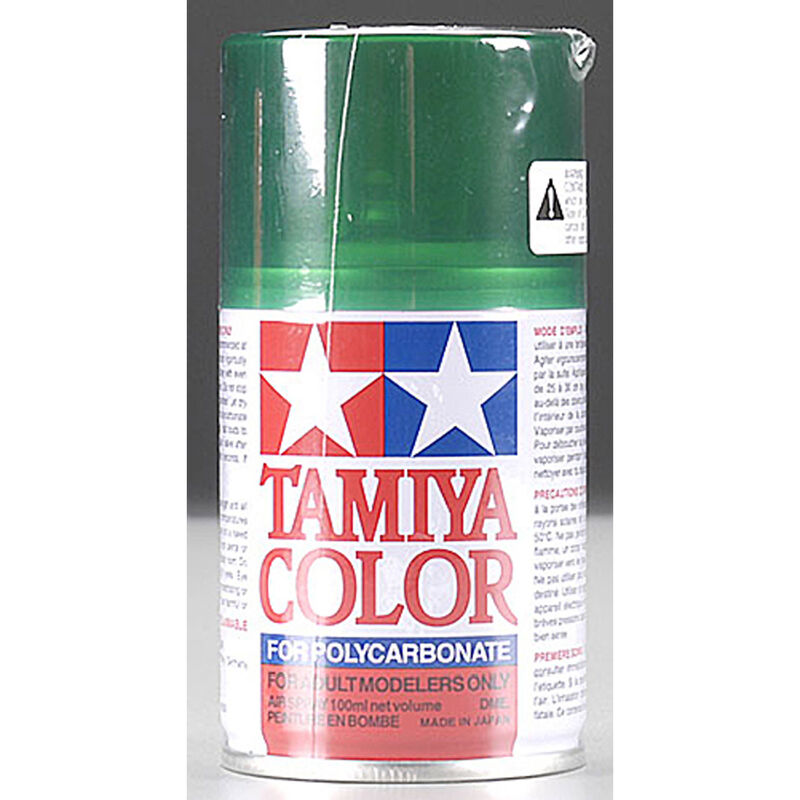 Polycarbonate PS-44 Translucent Green, Spray 100 ml