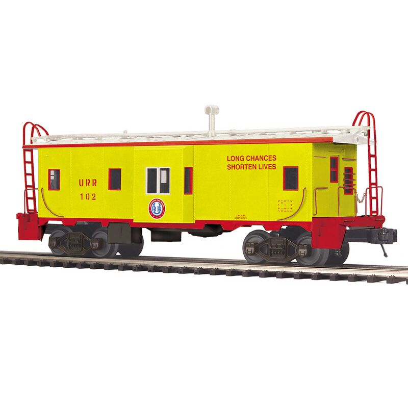 O Bay Window Caboose URR #102