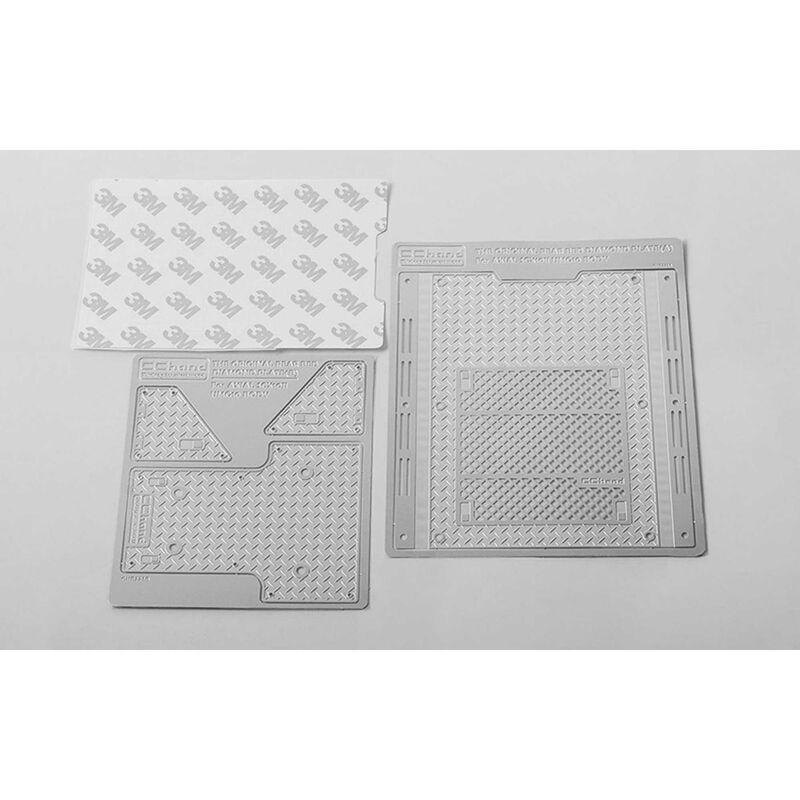 Diamond Plate Rear Bed: SCX10 II UMG10 Crawler