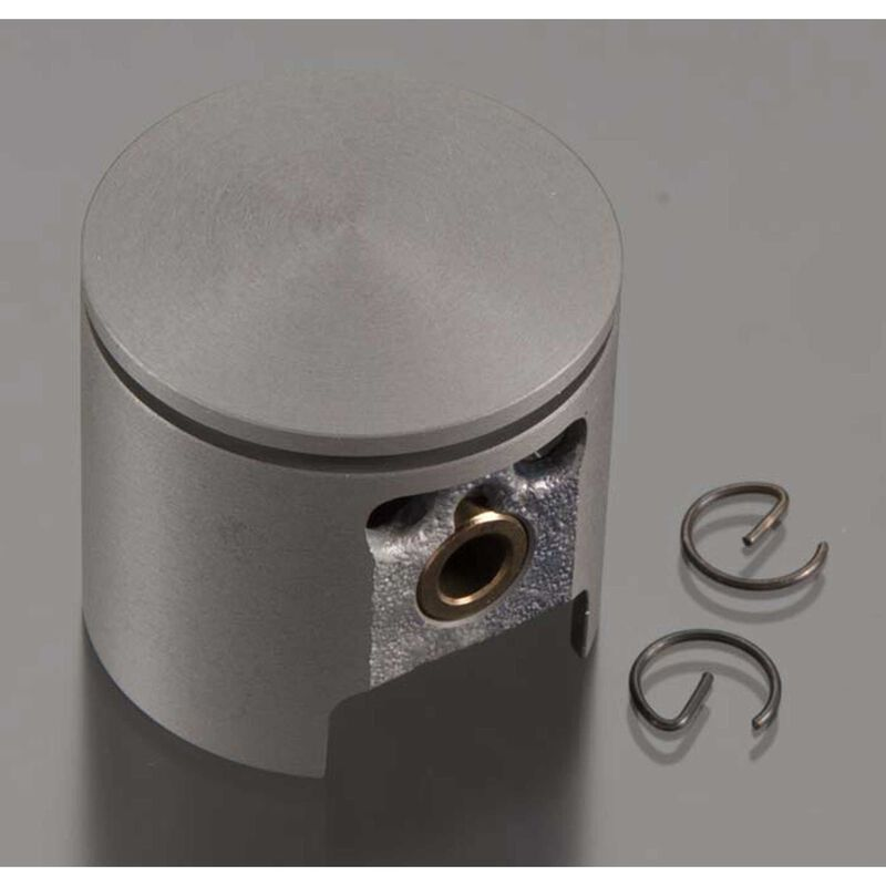 Piston with Pin and Retainer: DLE-60